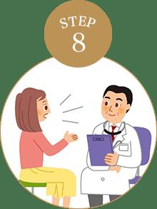 術後の検診